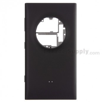 For Nokia Lumia 1020 Rear Housing Assembly Replacement (International Version) - Black - Grade S+