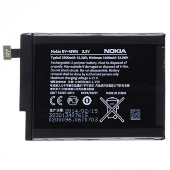 For Nokia Lumia 1320 Battery Replacement (BV-4BWA, 3400 mAh) - Grade S+