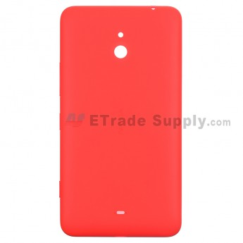 For Nokia Lumia 1320 Battery Door Replacement - Red - With Logo - Grade S+