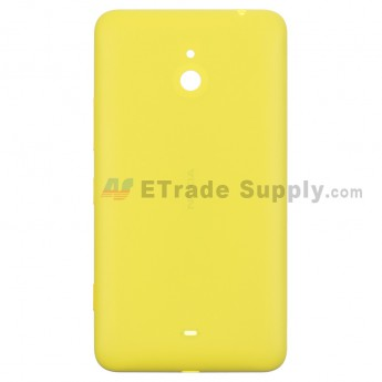 For Nokia Lumia 1320 Battery Door Replacement - Yellow - With Logo - Grade S+