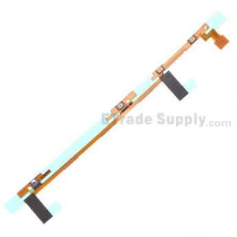 For Nokia Lumia 1520 Side Key Flex Cable Ribbon  Replacement - Grade S+
