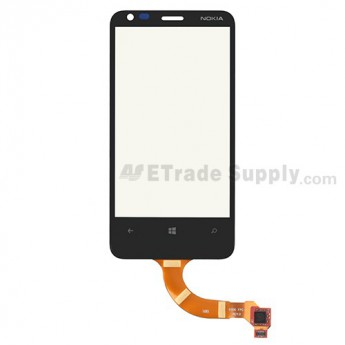 For Nokia Lumia 620 Digitizer Touch Screen Replacement - Grade S+