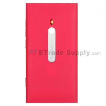 For Nokia Lumia 800 Rear Housing Assembly  Replacement - Red - Grade S+