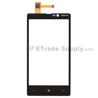 For Nokia Lumia 820 Digitizer Touch Screen Replacement ,Without Carrier Logo - Grade S+