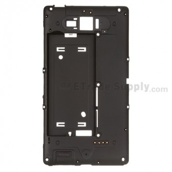 For Nokia Lumia 820 Middle Plate Replacement ,Black - Grade S+