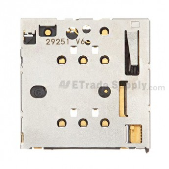For Nokia Lumia 820 SIM Card Reader Contact Replacement - Grade S+