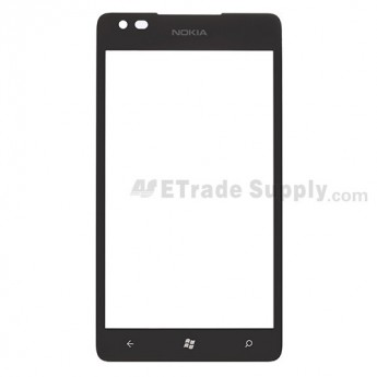 For Nokia Lumia 900 Glass Lens  Replacement ,With Logo - Grade S+