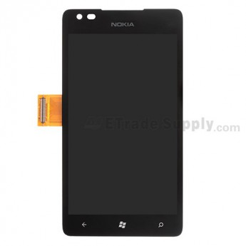 For Nokia Lumia 900 LCD Screen and Digitizer Assembly Replacement - Without Logo - Grade S+