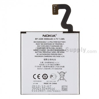 For Nokia Lumia 920 Battery Replacement - Grade S+