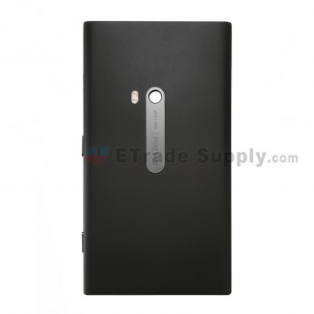 For Nokia Lumia 920 Battery Door with Wireless Charging Coil Replacement - Black - Grade S+