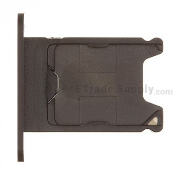 For Nokia Lumia 920 SIM Card Tray  Replacement ,Black - Grade S+
