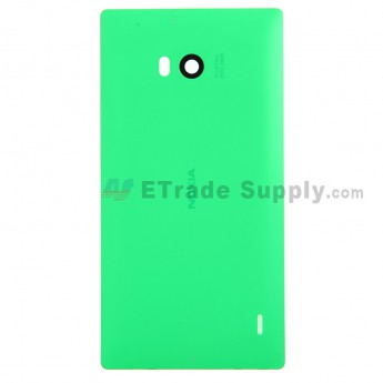 For Nokia Lumia 930 Battery Door Replacement - Green - With Logo - Grade S+
