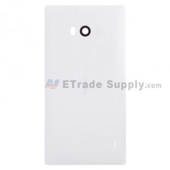 For Nokia Lumia 930 Battery Door Replacement - White - With Logo - Grade S+