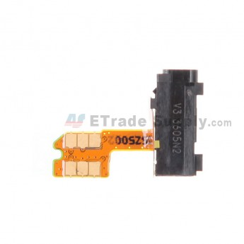For Nokia Lumia 930 Earphone Jack Flex Cable Ribbon  Replacement - Grade S+