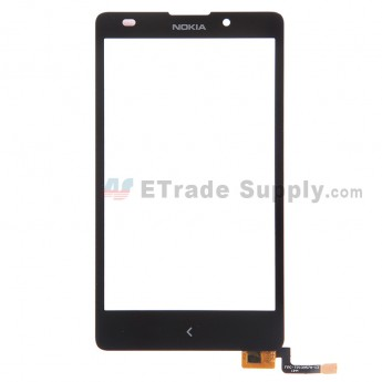 For Nokia XL Digitizer Touch Screen Replacement - With Logo - Grade S+