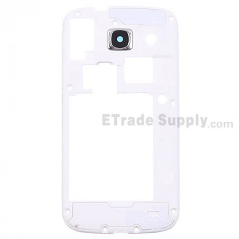 For Samsung Galaxy Core GT-I8262 Rear Housing  Replacement - White - Grade S+