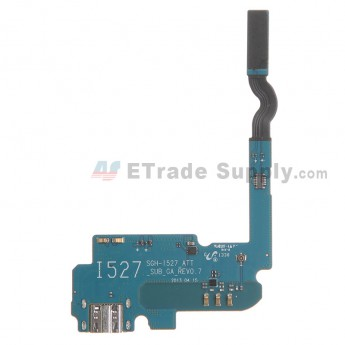 For Samsung Galaxy Mega 6.3 SGH-I527 Charging Port Flex Cable Ribbon  Replacement - Grade S+