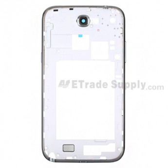 For Samsung Galaxy Note 2 SGH-i317/SGH-T889 Rear Housing Replacement - White - Grade S+