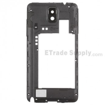 For Samsung Galaxy Note 3 N9005 Rear Housing Replacement - Black - Grade S+