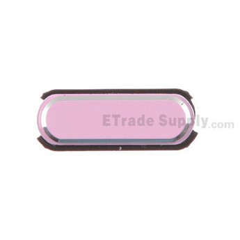 For Samsung Galaxy Note 3 N9006/N900/N9005/N900A/N900P/N900T/N900V/N900R4 Home Button Replacement - Pink - Grade S+