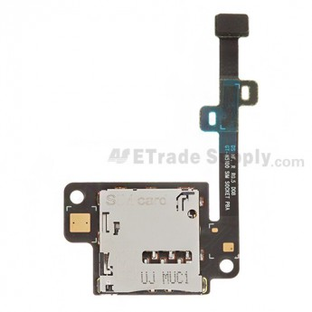 For Samsung Galaxy Note 8.0 GT-N5100/GT-N5110 SIM Card Reader Contact Replacement - Grade S+