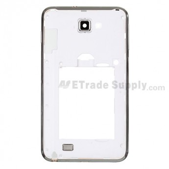 For Samsung Galaxy Note GT-N7000/GT-I9220 Rear Housing Replacement - White - Grade S+