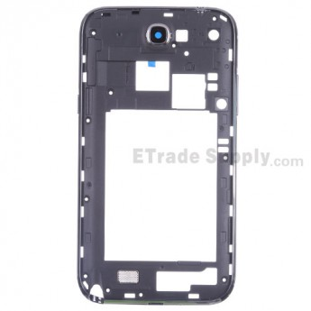 For Samsung Galaxy Note II LTE N7105 Rear Housing Replacement - Gray - Grade S+