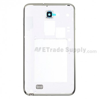 For Samsung Galaxy Note SGH-I717 Rear Housing Replacement - White - Grade S+