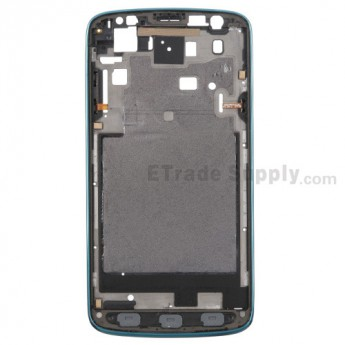 For Samsung Galaxy S4 Active GT-I9295 Front Housing Replacement - Blue - Grade A