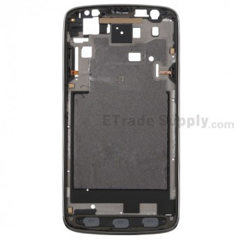 For Samsung Galaxy S4 Active GT-I9295 Front Housing Replacement - Gray - Grade A