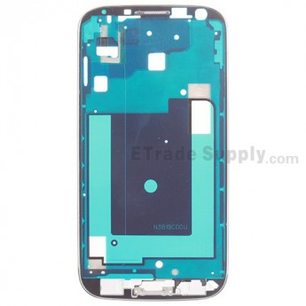 For Samsung Galaxy S4 GT-I9500 Front Housing Replacement - White - Grade S+