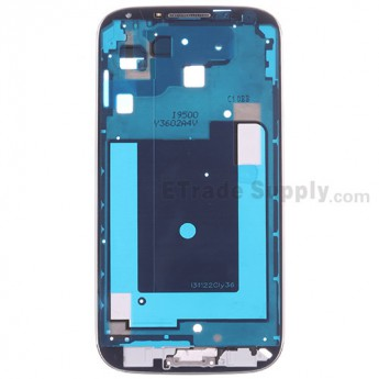 For Samsung Galaxy S4 GT-I9500 Front Housing Assembly Replacement - Black - Grade S+