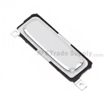 For Samsung Galaxy S4 GT-I9500/I9505/I545/L720/R970/I337/M919/I9502 Home Button Replacement - White - Grade S+