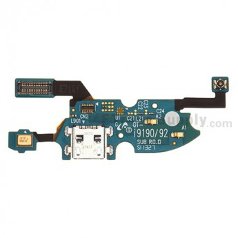 For Samsung Galaxy S4 Mini Duos GT-I9192 Charging Port Flex Cable Ribbon Replacement - Grade S+