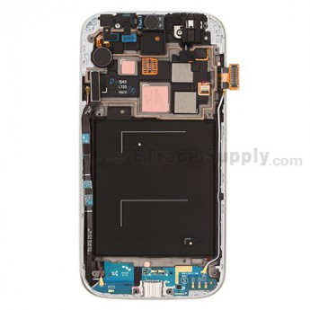 For Samsung Galaxy S4 SCH-R970 Complete Front Housing Assembly with LCD Screen and Digitizer Replacement - White - Grade S+