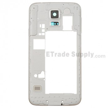For Samsung Galaxy S5 SM-G9006V Rear Housing Replacement - White - Grade S+