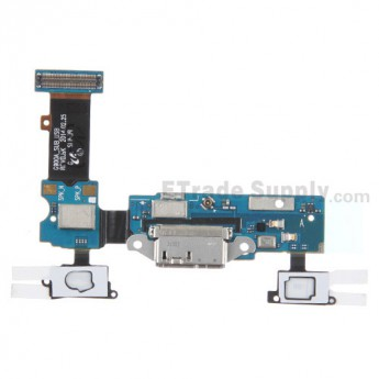 For Samsung Galaxy S5 SM-G900A Charging Port Flex Cable Ribbon Replacement - Grade S+