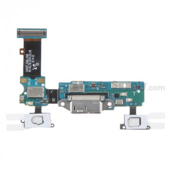 For Samsung Galaxy S5 SM-G900T Charging Port Flex Cable Ribbon Replacement - Grade S+