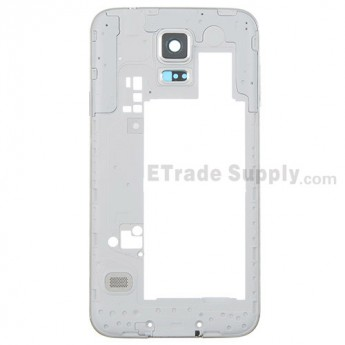 For Samsung Galaxy S5 SM-G900T Rear Housing Replacement - Black - Grade S+