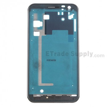 For Samsung Galaxy S II Skyrocket HD SGH-I757 Front Housing Replacement - Black - Grade S+