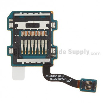 For Samsung Galaxy S III Mini I8190 SD Card Reader Contact Replacement - Grade S+