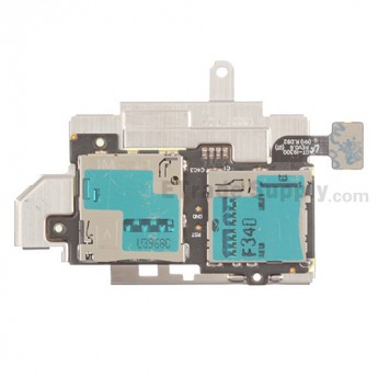 For Samsung Galaxy S III (S3) GT-I9300 SIM and SD Card Reader Contact Replacement - Grade S+