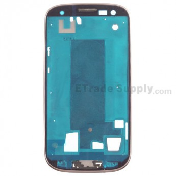 For Samsung Galaxy S III SCH-I535/SCH-R530 Front Housing Replacement - Brown - Grade S+