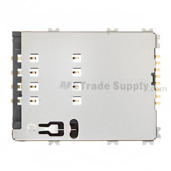 For Samsung Galaxy Tab 2 10.1 GT-P5100/GT-P5110 SIM Card Reader Contact Replacement - Grade S+