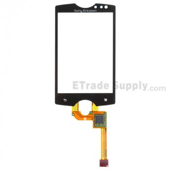 For Sony Ericsson Xperia mini ST15i Digitizer Touch Screen  Replacement ,With Logo - Grade S+