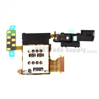 For Sony Xperia ion LTE LT28i SIM Card Reader Contact PCB Board Replacement  - Grade S+