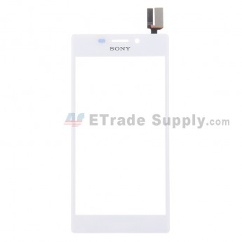 For Sony Xperia M2 Digitizer Touch Screen Replacement - White - With Logo - Grade S+