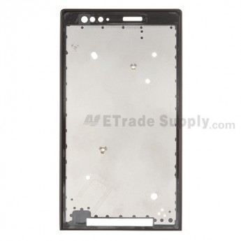 For Sony Xperia P LT22i Front Housing Replacement ,Black - Grade S+