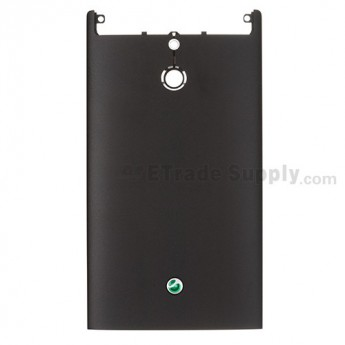 For Sony Xperia P LT22i Rear Housing Replacement ,Black - Grade S+