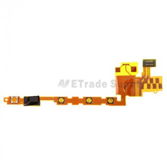 For Sony Xperia P LT22i Side Key Flex Cable Ribbon Replacement Replacement - Grade S+